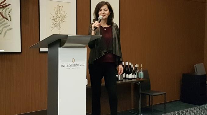 Christine Vernay – La culture des vignes en pente dans le coteaux de Condrieu et Côte Rôtie – Symposium Décembre 2019 Lyon